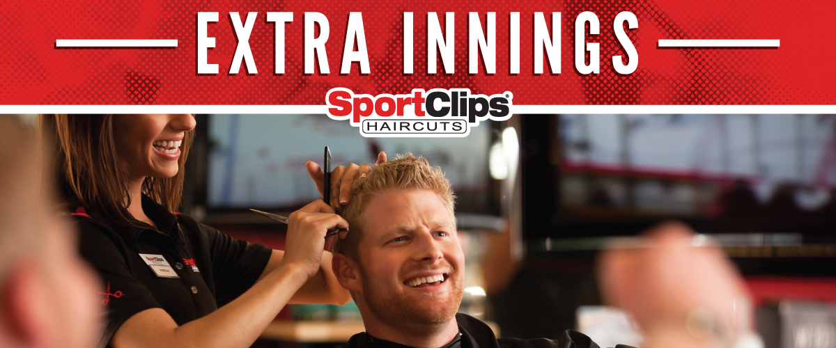 The Sport Clips Haircuts of Cherry Hill  Extra Innings Offerings